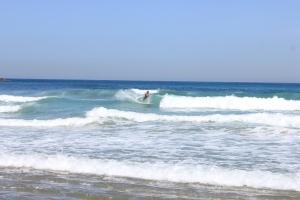 Surfing at Zurrioloa