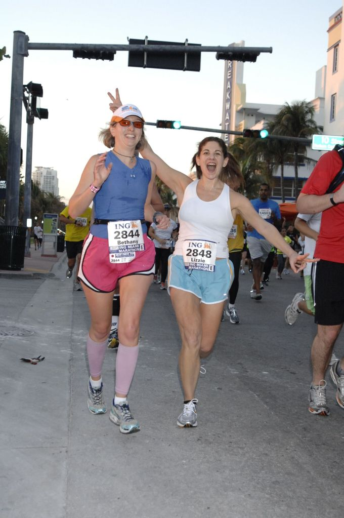 Happier times Miami 2011 (mile 10 or so)