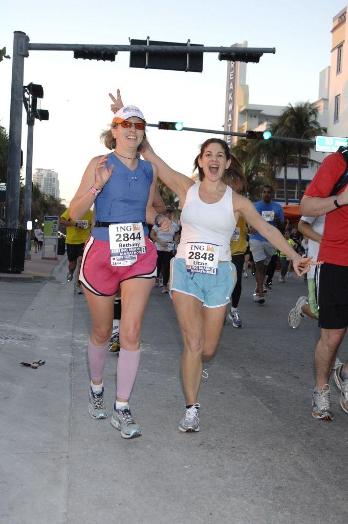 Happier times Miami 2011 (mile 10 or so)
