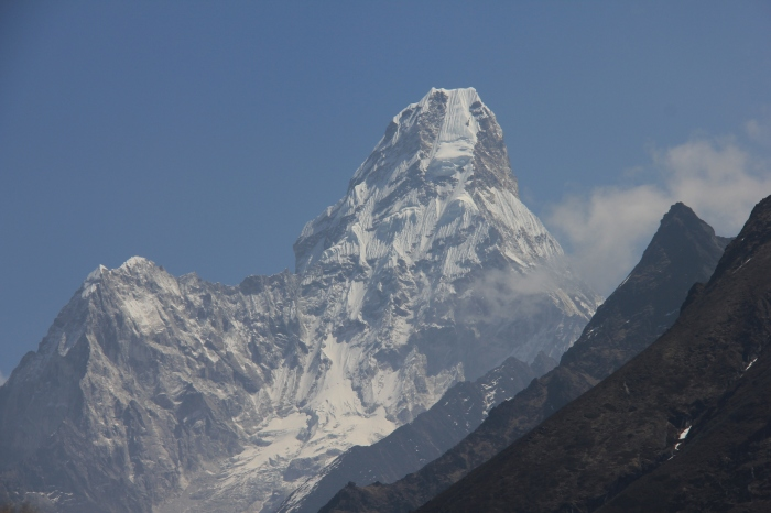 My Favorite Mountain in the Khumbu (Wildmedgirl shout-out to the first person to name it)