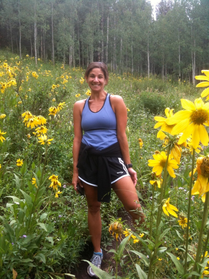 Love running through fields of wildflowers. Note - carry EpiPens