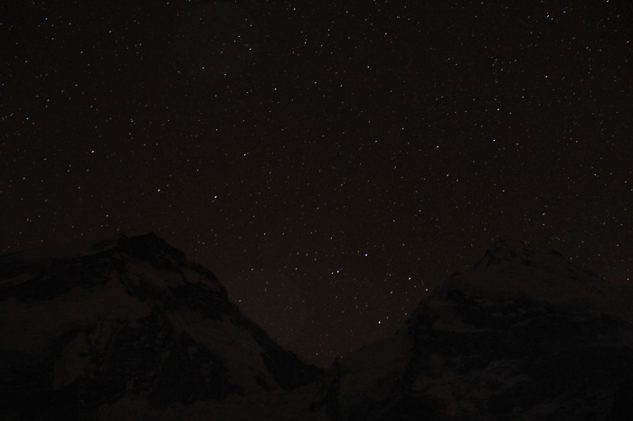 Milky Way over the Himalaya