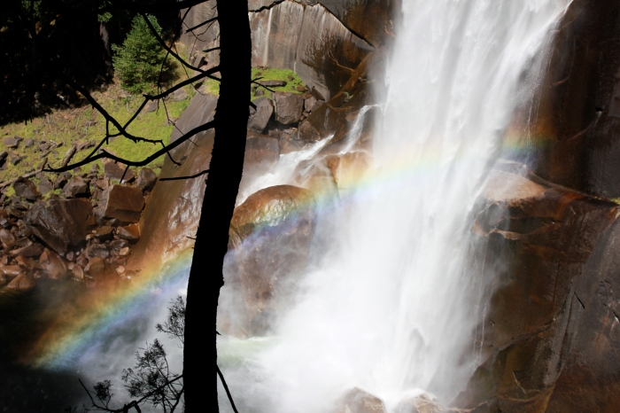 Vernal Falls - A Dangerous Beauty