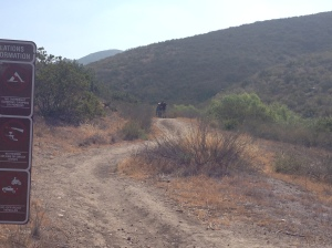 Running trails areound these parts