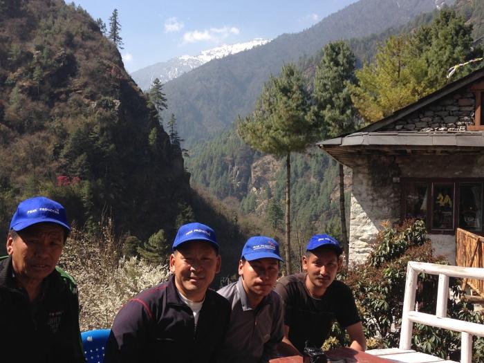 Beloved Sherpa guides